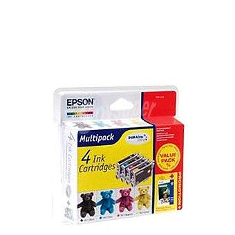 Epson Multipack Cartucho de Tinta 4T 4800 - negro/tricolor Multipack Cartucho de Tinta 4T 4800