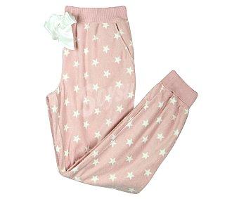 In Extenso Pantalón de pijama para mujer, estrellas, talla M