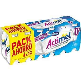 Actimel Danone Actimel para beber natural 0% 12 unidades de 100 ml