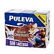 Batido al cacao sin lactosa pack 6 unidades 200 ml Puleva
