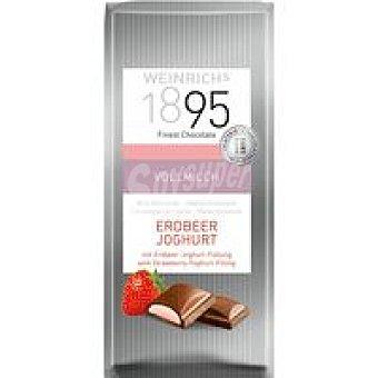 1895 Chocolate con leche extrafino relleno yogur fresa 100 g