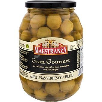 Maestranza Aceitunas verdes manzanilla con hueso Gran Gourmet barril 600 g neto escurrido 600 g neto escurrido