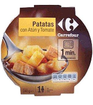 Carrefour Patatas con atún y tomate 240 g