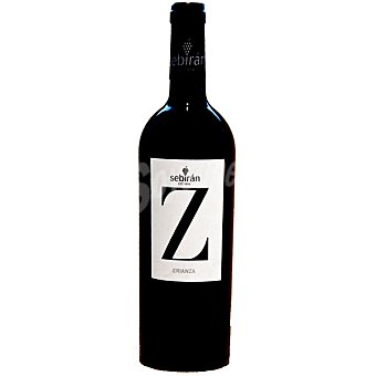 SEBIRAN Z Vino tinto tempranillo D.O. Utiel Requena Botella 75 cl