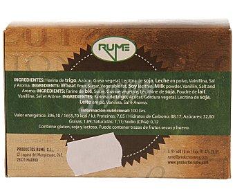 Rume Cubanitos de barquillo 25 unidades 120 gramos