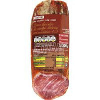 Eroski Lomo cebo campo ibérico 50% raza ibérica 300 g