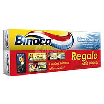Binaca Dentífrico blanquante Pack 1 unid. + Lata