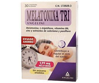 Melatonina tri Complemento alimenticio que contribuye a regular el ciclo del sueño 30 comprimidos