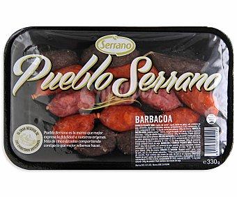 Serrano Barbacoa sin gluten 330 gramos