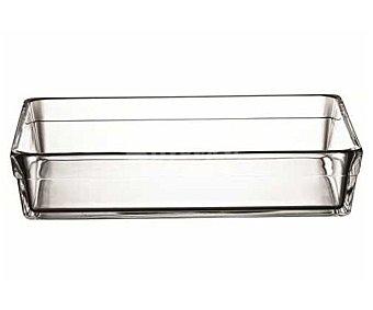 Guzzini Fuente rectangular de 28,7x18,7 centímetros fabricada en vidrio borosilicato, apta para horno 1 unidad