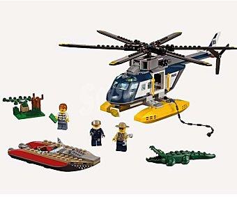 LEGO Juego de construcciones City Persecución en helicóptero, modelo 60067 1 unidad
