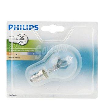 Philips Bombilla ecoclassic 28W E14 B35