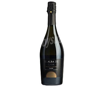 Alba Cava reserva brut nature, elaborado de forma tradicional botella de 75 cl