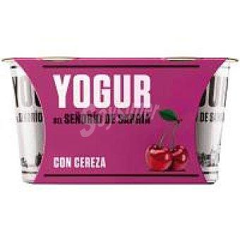 Señorio de Sarria Yogur con cereza Pack 2 x 125 g