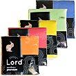 Premium servilletas de papel colores surtidos  paquete 80 unidades Lord