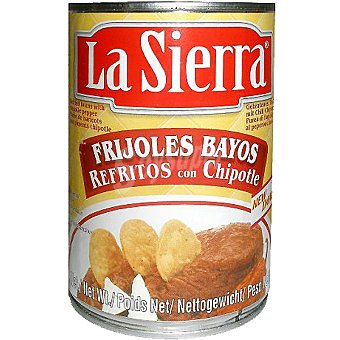 La sierra Frijoles refritos con chipotle Lata 430 g