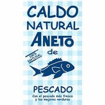 Aneto Caldo natural de pescado Brik 1 litro